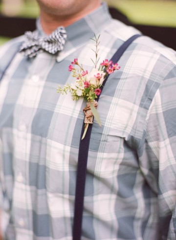 Southern Boutonniere Ideas